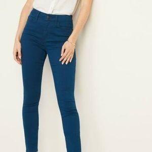 ON High-Rise Pop-Color Rockstar Super Skinny Jeans